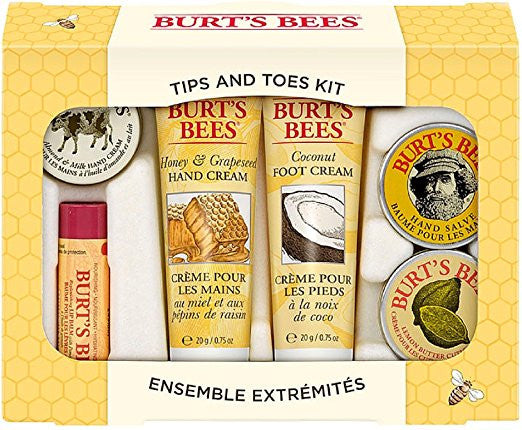 Burts Tips And Toes Kit Size 1ct Burts Tips And Toes Kit  Burt's Bees