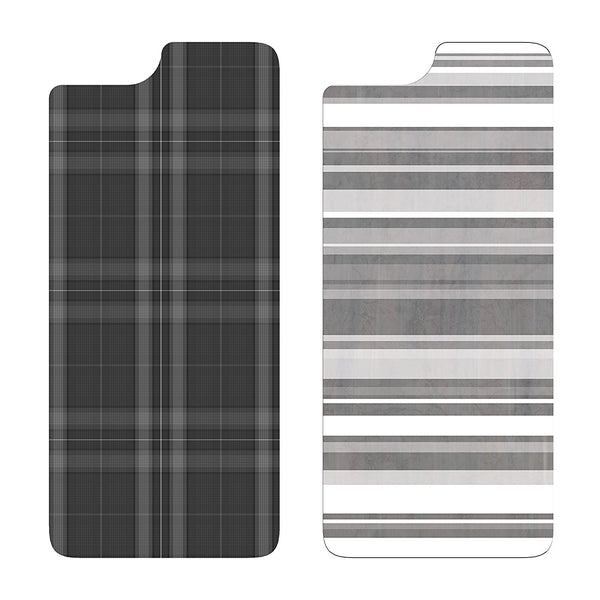 OtterBox SYMMETRY SERIES GRAPHIC INSERT 2PK for iPhone 6/6s GREY PLAID / GREY STIPE INSERTS
