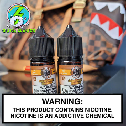 Barista Brew Nic Salts near me in Aurora: Quick Clouds Vape Shop & Delivery has the best selection of Nicotine Salt Premiums in the Denver metro.