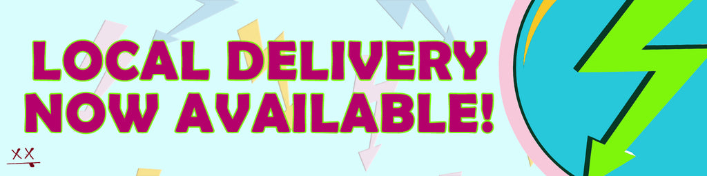 now offering local delivery/shipping.