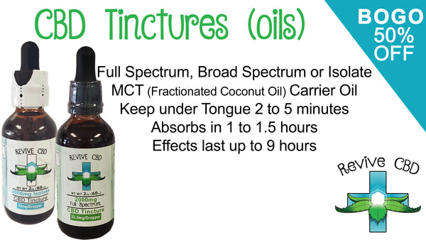 Revive Tinctures Oils