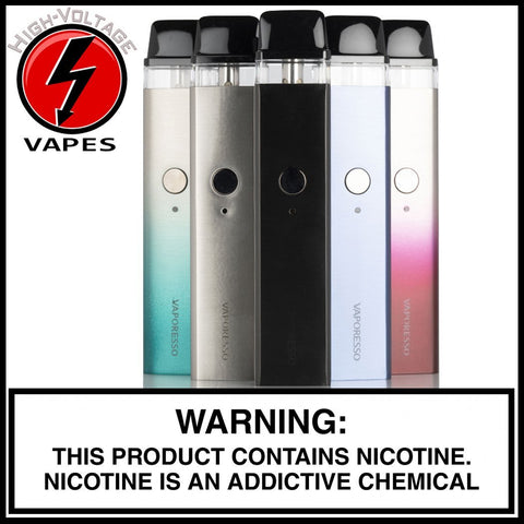 Vaporesso Xros Kit available at High-Voltage Vapes in Aurora, CO!