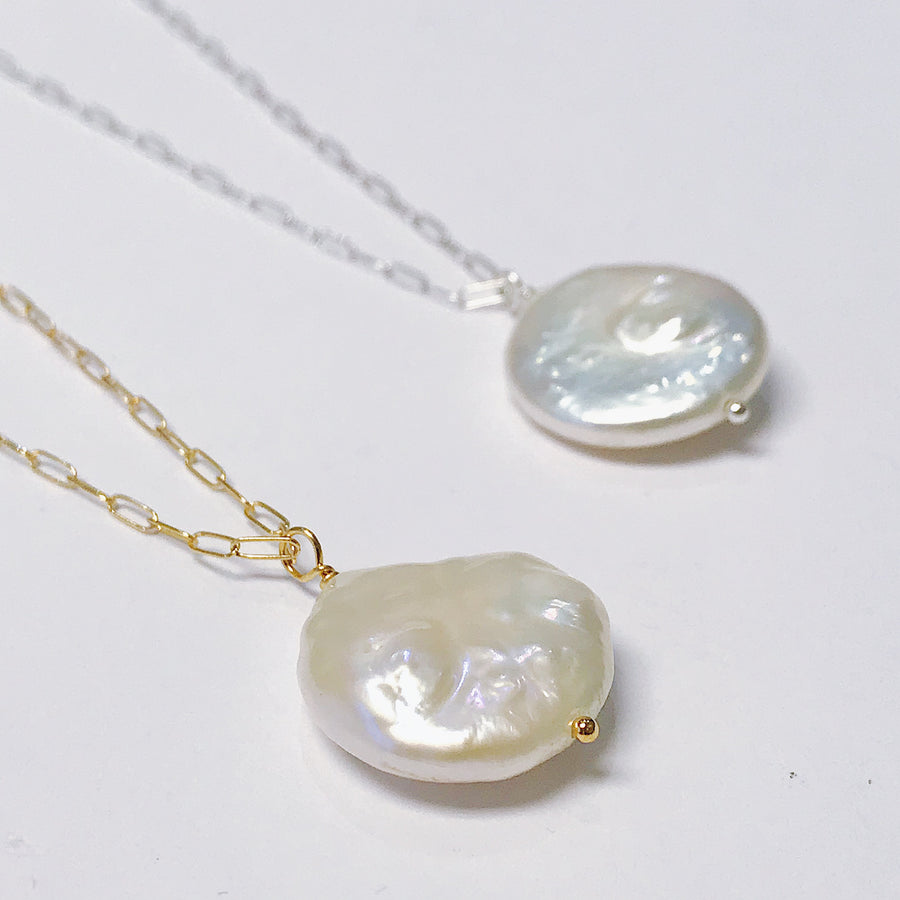 Pearl Talisman Necklace - Salt + Sage