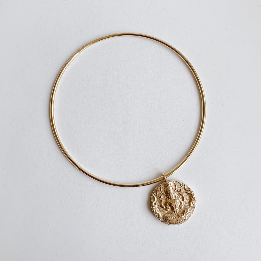 The Lakshmi Bangle Bracelet - Salt + Sage