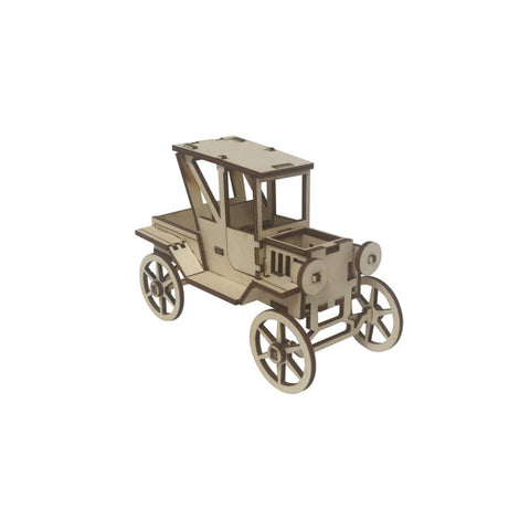 Antique Car Model Kit - BirdsWoodShack