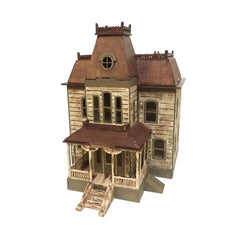 Bates House Model Painted/Assembled - BirdsWoodShack