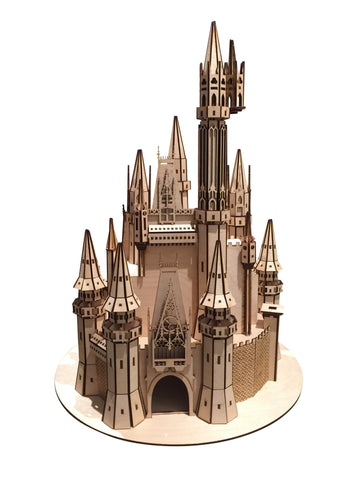 Princess Castle Model - BirdsWoodShack