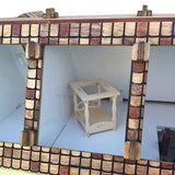 English Manor Dollhouse Kit - BirdsWoodShack