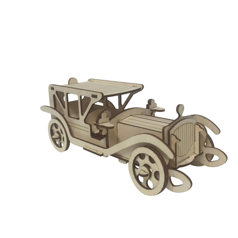 Antique Limousine Model Kit - BirdsWoodShack