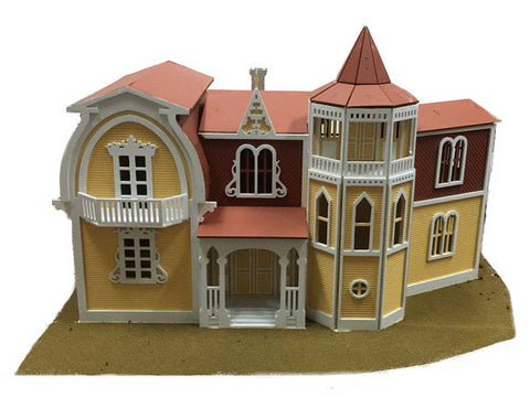 Munster House Model Kit - BirdsWoodShack