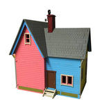 New Version UP House Model Kit - BirdsWoodShack