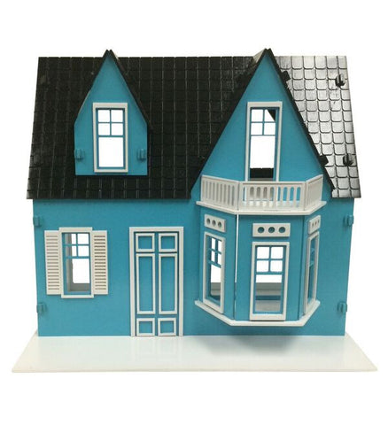 Shirley Temple Dollhouse Painted/Assembled - BirdsWoodShack