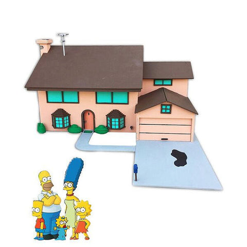 The Simpson House Model Kit - BirdsWoodShack