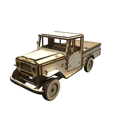 Land Rover Model Kit - BirdsWoodShack