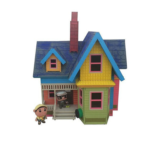 Large UP House Model Kit - BirdsWoodShack
