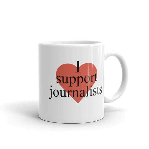 I Support Journalists Mug