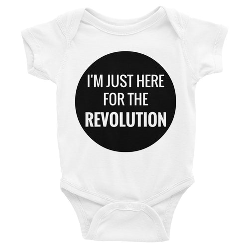 Here for the Revolution Onesie