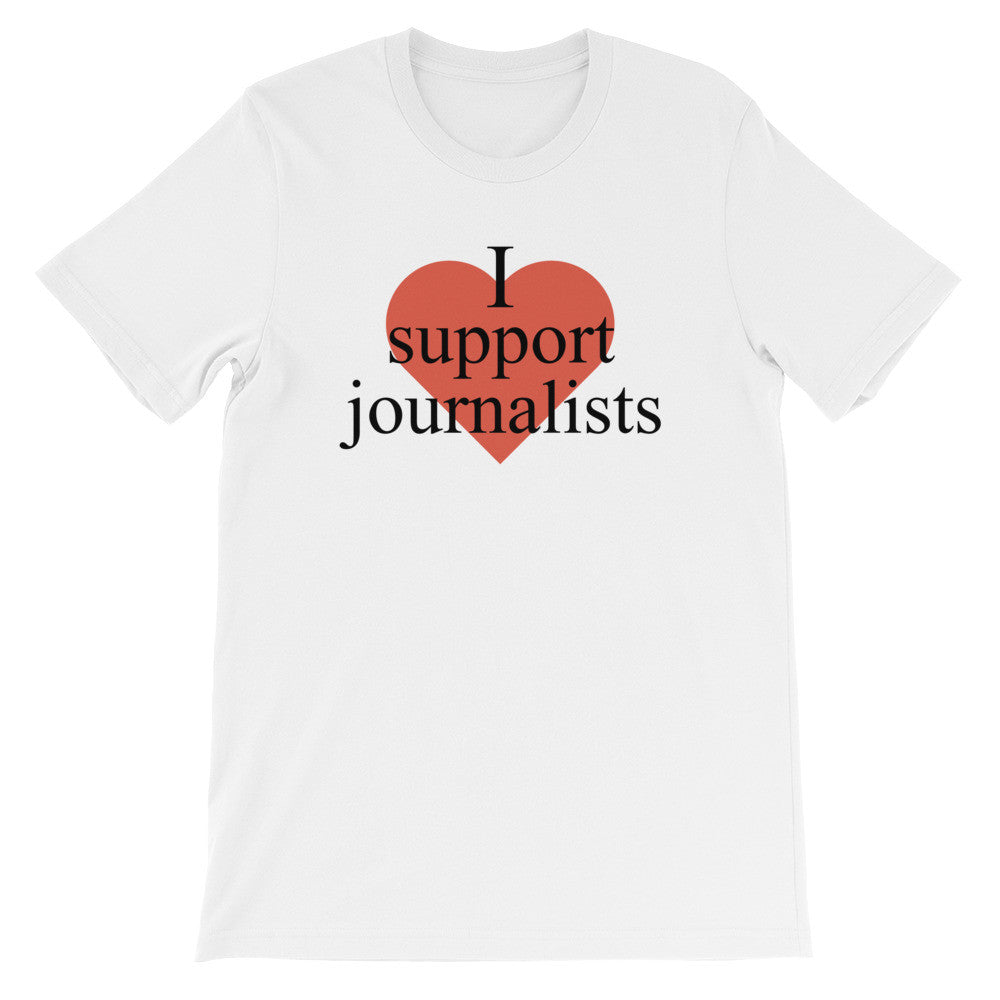 I Support Journalists Unisex T-Shirt