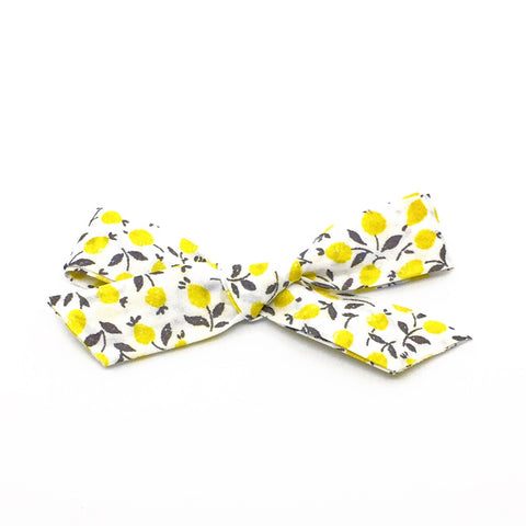 Lemon Flower London Bow