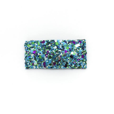 Mermaid Tail Glitter Single Snap Clip