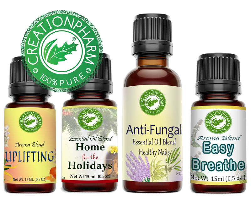 100% Pure Essential Oil Aromatherapy Synergies