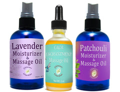 Massage & Moisturizer Skin Care Oils