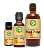 Sweet Orange Essential Oil 4 oz 100% Pure from Creation Pharm - Creation Pharm