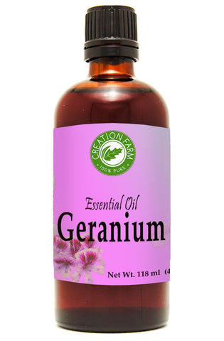 Geranium Essential Oil 120ml (4oz) Creation Pharm