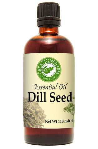 Dill Seed Oil 120ml (4 oz) - Dill Essential Oil 100% Pure from Creation Pharm - Creation Pharm