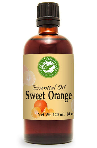 Sweet Orange Essential Oil 4 oz 100% Pure from Creation Pharm