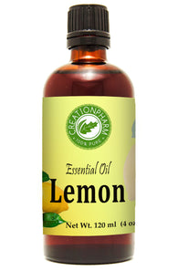 Lemon Essential Oil 120ml (4oz) Creation Pharm - Creation Pharm