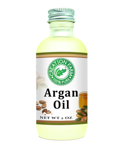Argan Oil 2 oz - Pure Morroccan Argan Oil from Creation Pharm