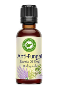 Anti-Fungal Nail Oil Blend, Clears Yellow Nail Fungus Creation Pharm Essential Oil