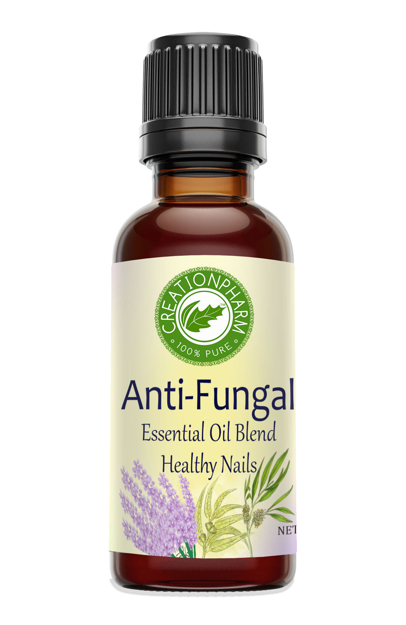 Anti-Fungal Nail Oil Blend, Clears Yellow Nail Fungus Creation Pharm Essential Oil - Creation Pharm