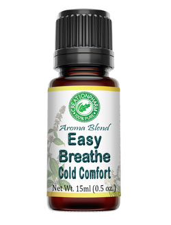 Easy Breathe Cold Comfort Aromatherapy Essential Oil Blend 15ml (0.5oz)