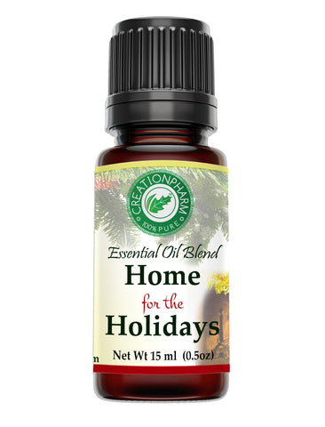 Home for the Holidays Aroma Oil Diffuser Blend 15 ml from Creation Pharm
