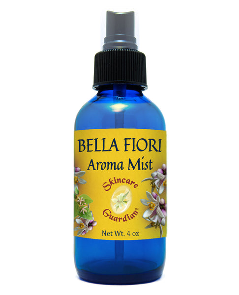 Bella Fiori Aroma Mist 4oz 100% Pure Essential Oil Mister