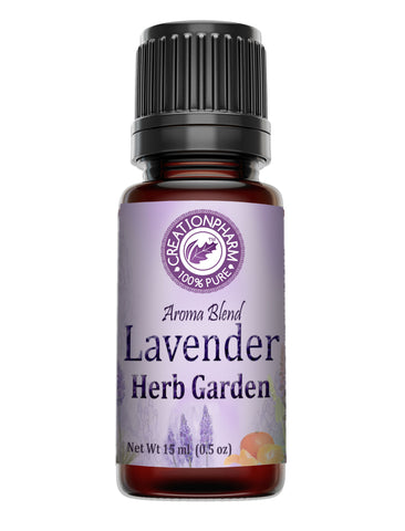Lavender Herb Garden Aromatherapy Essential Oil Blend 15 ml from Creation Pharm