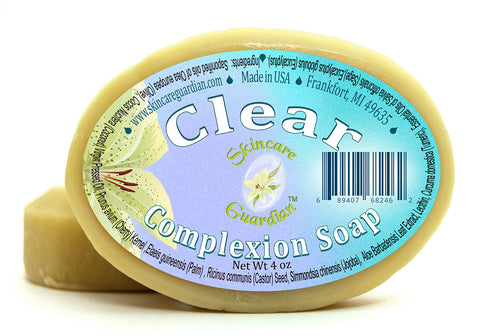Clear Complexion Soap Two 4 oz Bar Pack by SkinCare Guardian - Creation Pharm