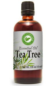 Tea Tree Essential Oil 118 ml - 100% Pure Australian Tea Tree Oil -  Aceite esencial de árbol de té - Creation Pharm