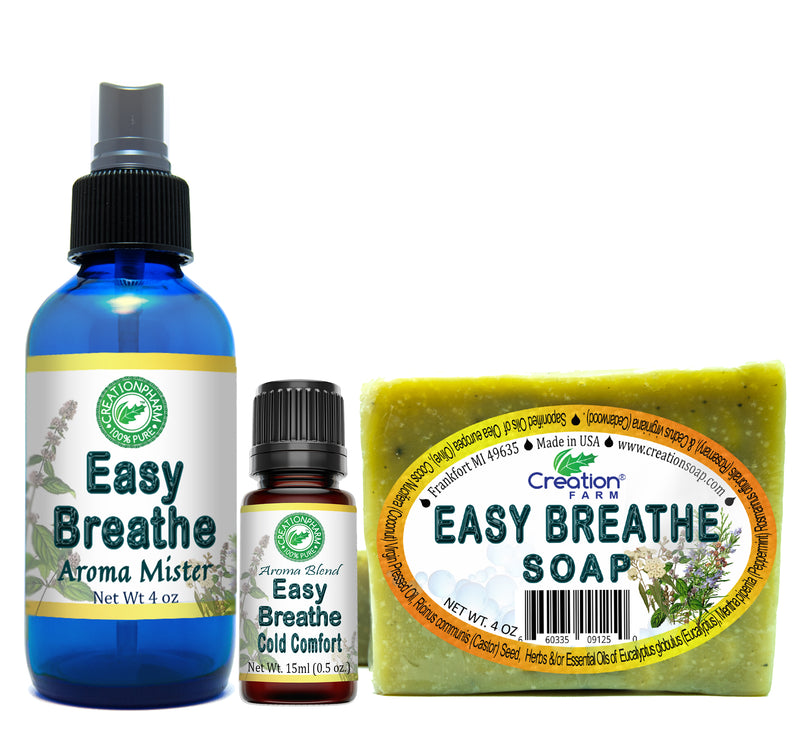 Easy Breathe Cold Comfort Collection Set - Creation Pharm