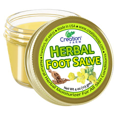 Foot Salve - Herbal Foot Salve - Foot Balm - Balsamo de Pies de Hierbas - Creation Pharm
