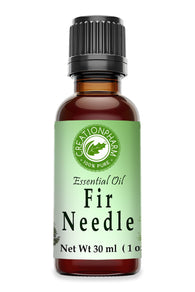 Fir Needle Essential Oil 30ml (1oz) Creation Pharm - Creation Pharm