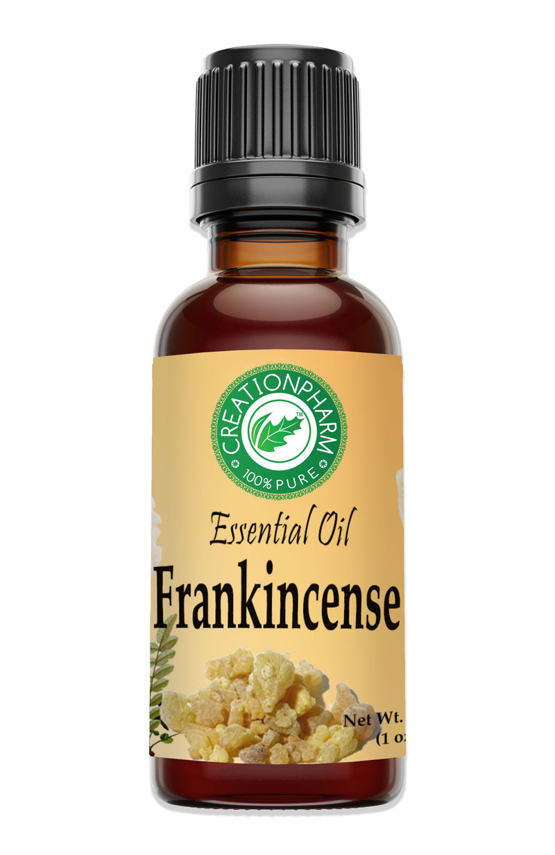 Frankincense Essential Oil | Aceite esencial de incienso | 30 ml - 100% Pure - Creation Pharm
