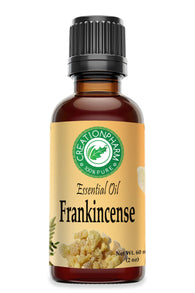 Frankincense Essential Oil | Aceite esencial de incienso | Aromatherapy Diffuser Economy Size 2 oz - Creation Pharm