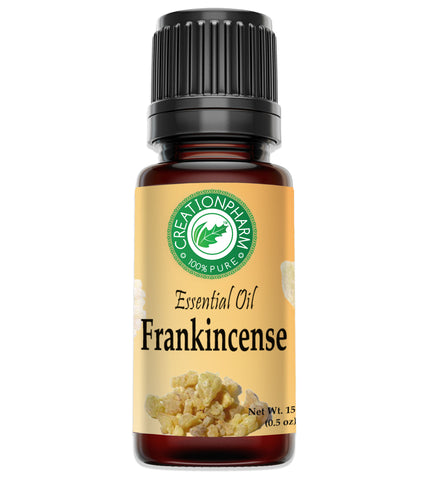 Frankincense Essential Oil - Olibanum - Aceite esencial de incienso - | Diffuser Aromatherapy Oil - Creation Pharm