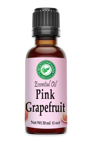Pink Grapefruit Essential Oil 30ml - Aceite Esencial de Toronja Rosa - Pink Grapefruit Oil 100% Pure - Creation Pharm