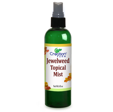 Jewelweed Spray - Poison Ivy, Bug Bites, Rash, remedy for quick relief - Large 8 oz Bottle