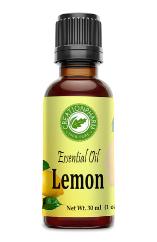 Lemon Essential Oil 1 oz Aceite Esencial de Limón 100% Pure Therapeutic Grade