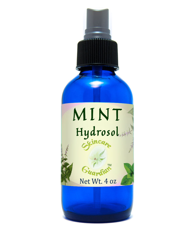 Mint Hydrosol - Hidrosol de mentha -Itch Relief For Allergic Reactions On Skin, Refreshing, Cooling - Creation Pharm